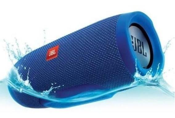 Caixa De Som Charge 3 Bluetooth Pen Drive Frete Gratis