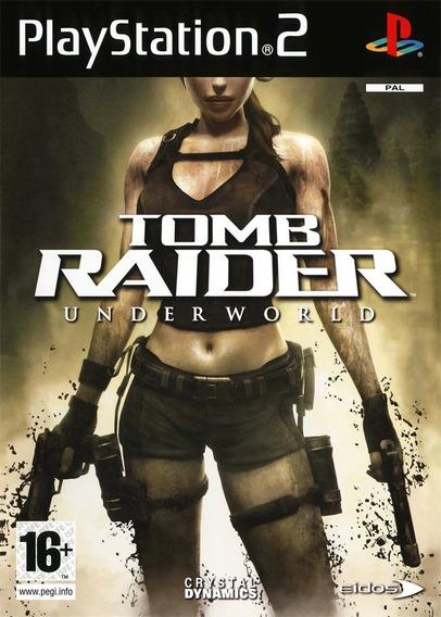 Tomb Raider Underwold Ps2
