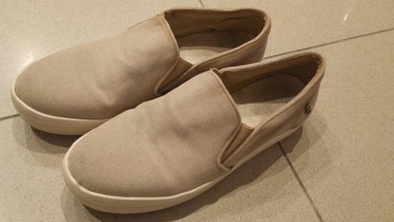 Zapatillas Tipo Panchas Agamuzadas