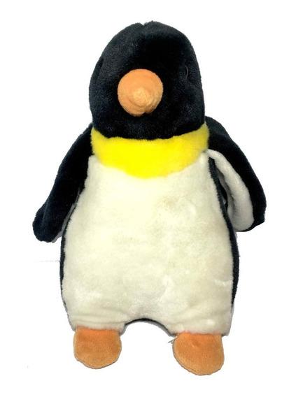 Pelúcia Pinguim Grande Fofo Realista Decoração Enfeite Casa