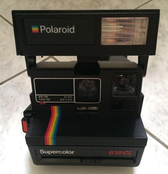 Câmera Polaroid Supercolor 635 Cl