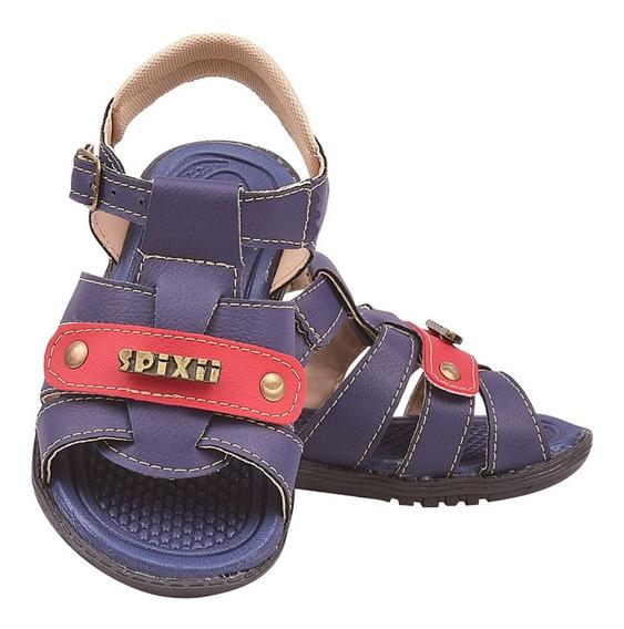 Sandália Infantil Masculino Chinelo Bebe Papete Menino Verão