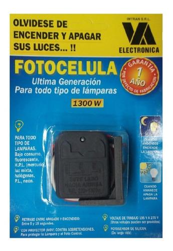 Fotocélula Universal 1300 Watts Imtran Todo Tipo De Lámparas