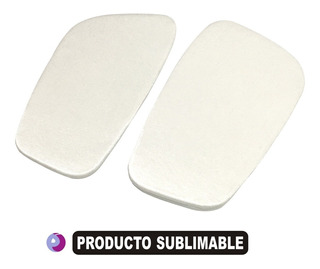 Canilleras Sublimables Talle Adulto 6 Pares Sin Sublimar