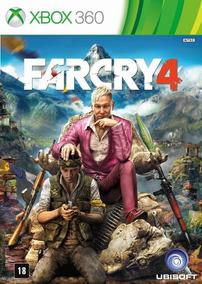 Jogo Far Cry 4 Xbox 360 Mídia Física Dvd Original Novo