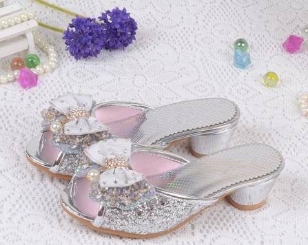 Sapato Feminino Brilho Infantil Dama De Honra Princesa