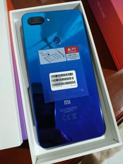 Xiaomi Mi8 Lite Azul 128gb+6ram+ Cap+pelic