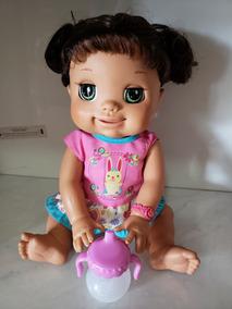 Baby Alive Brincalhona Semi Nova Ela E Raridade