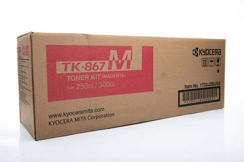 Imagen 1 de 2 de Toner Tk-867m Kyocera Original Para Taskalfa 250ci