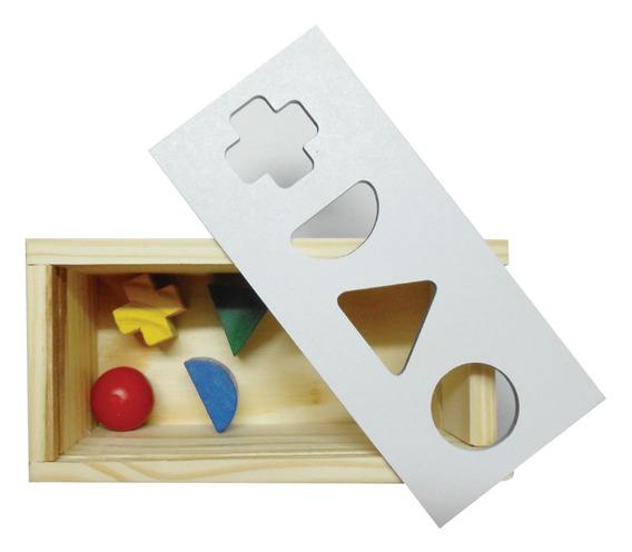Brinquedos Educativos - Passa Peça 4 Unidades