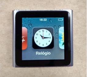 iPod Nano 6 16gb Cinza - Usado - Ótimo - Parcelado - 0ddw4