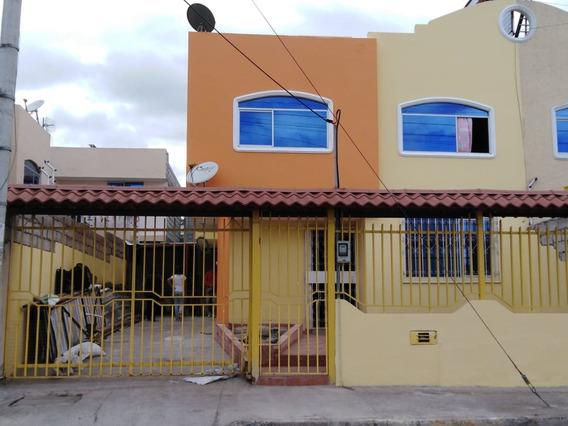 Vendo Casa 2 Pisos Independiente En Ambato (por Viaje )