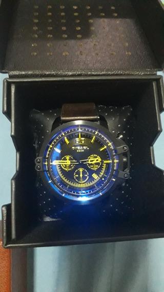 Relógio De Pulseira Em Couro Original