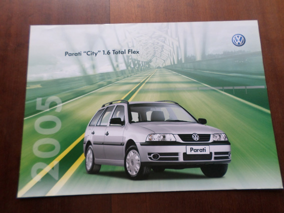 Folder Original Volkswagen Parati