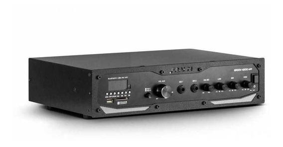Amplificador Receiver Som Ambiente Gr4200 Frahm Bt Usb 400w