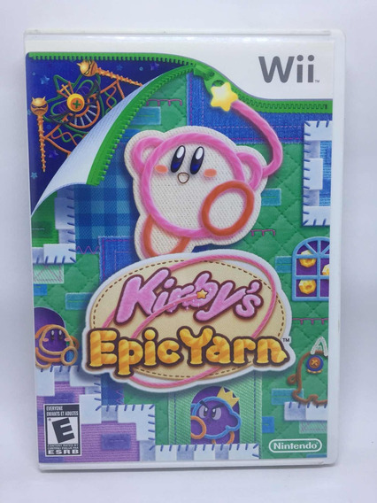 Kirbys Epic Yarn Original - Wii