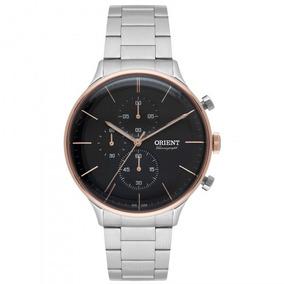 Relógio Orient Mtssc012 P1sx Prata Masculino - Refinado