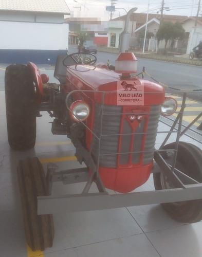 Trator Massey Ferguson 50x - Ano 1982 - Eixo Redondo