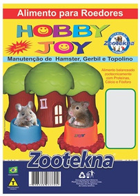 Hobby Joy - Ração Para Hamster - 500g