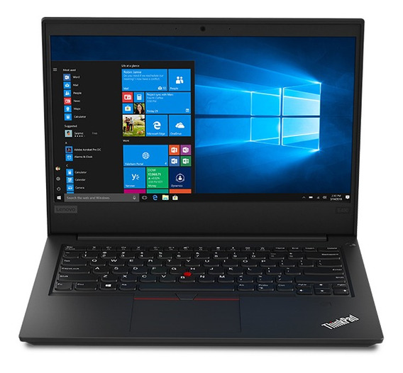 Laptop Lenovo I5 8gb 1tb Thinkpad E490 14 Black
