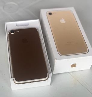 iPhone 7 32g Gold Seminovo Com Garantia