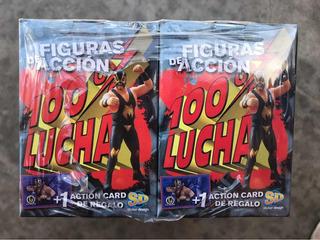 Muñecos 100% Lucha Colección Completa Pack X10