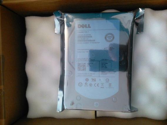 Hd Sas Dell 300gb 15k 3.5 Pn F617n St3300657ss Nf + Garantia