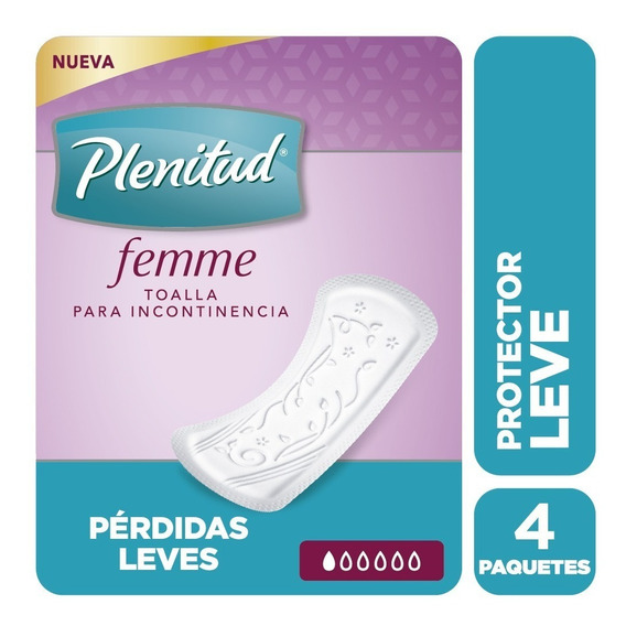 Plenitud Protector Leve Femme X 14 Unidades Pack X 4