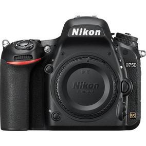 Câmera Nikon D750 - 24.3mp - Somente Corpo - Garantia