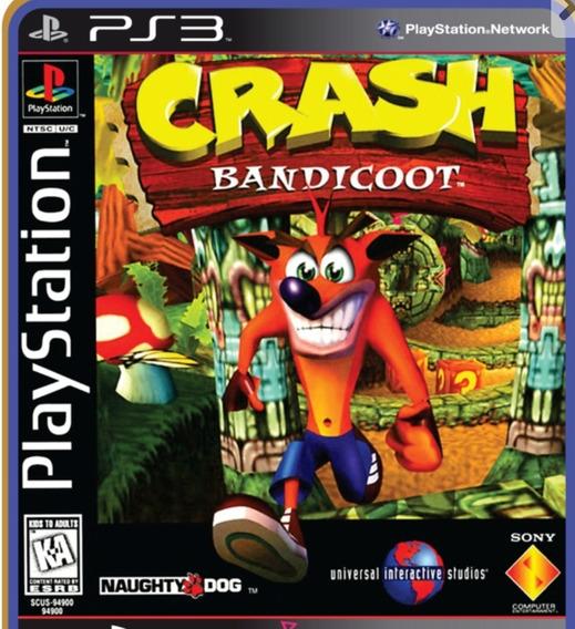 Ps3 Crash Bandicoot Mídia Digital