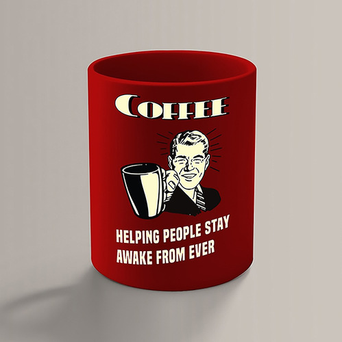 Imagem 1 de 3 de Caneca Coffee Helping