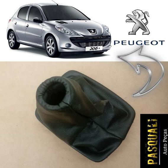 Coifa Manopla Alavanca De Cambio Marcha Peugeot 207 Original