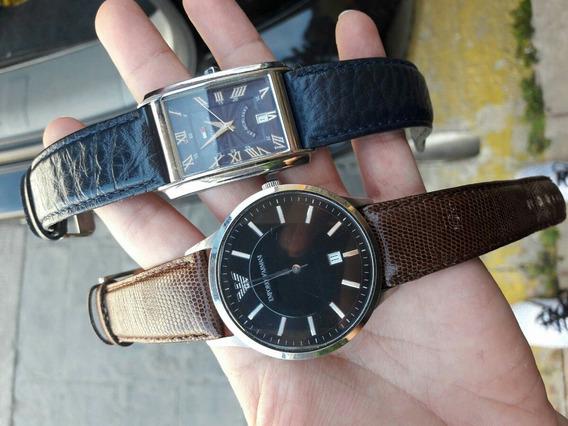 Reloj Emporio Armani Y Reloj Tommy Hilfiger