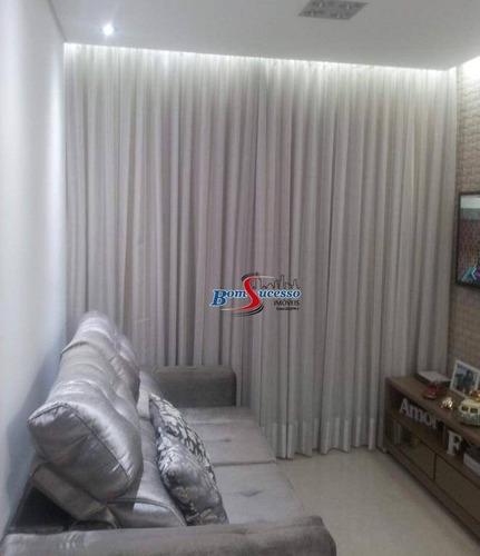 Imagem 1 de 24 de Apartamento Com 2 Dormitórios À Venda, 48 M² Por R$ 260.000,00 - Jardim Vila Formosa - São Paulo/sp - Ap3075