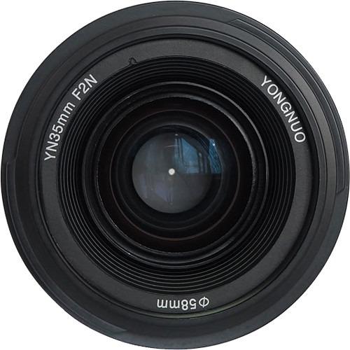 Lente Yongnuo 35mm F/2g - Nikon Autofoco