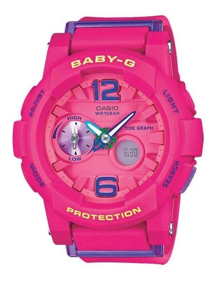 Relógio Baby-g Bga-180-4b3dr Original + Frete Grátis