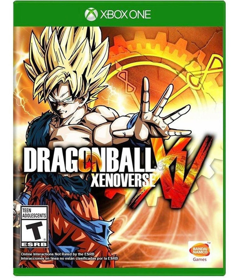 Jogo Dragonball Xenoverse Xbox One Midia Fisica Game Lacrado