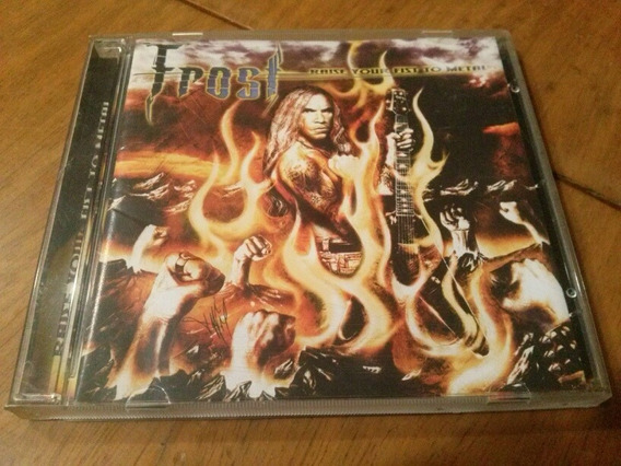 Frost Raise Your Fist To Metal Cd / Seven Witches Savatage