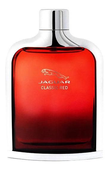 Jaguar Classic Red Perfume Masc. - Edt 100ml Beleza Na Web