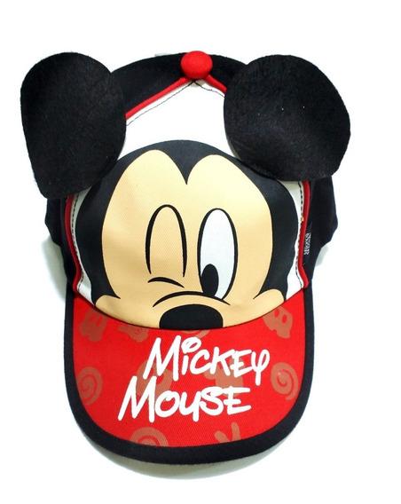Gorro Visera Footy Mickey Disney Con Orejas Fty Calzados