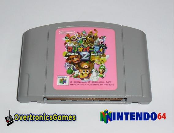 Nintendo 64 Mario Party 2 Original Japonesa N64