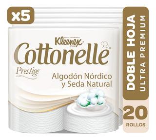 Papel Higienico Kleenex Cottonelle Doble Hoja (5x4) (20 Uni)