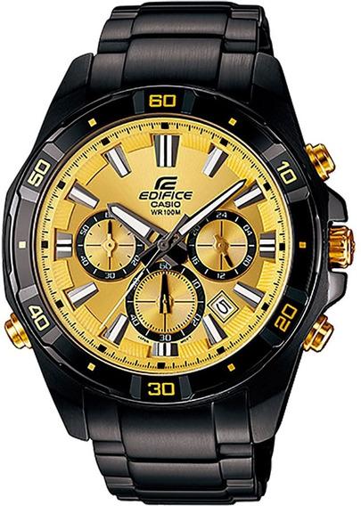 Relógio Casio Edifice Cronógrafo Efr-534zbk-9avdf