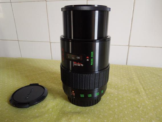 Lente Macro-zoom 70-210mm P/ Minolta