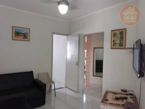 Apartamento Com 1 Dormitório À Venda, 48 M² Por R$ 145.000,00 - Caiçara - Praia Grande/sp - Ap3970