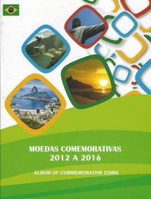 Álbum Para Moedas Comemorativa Olimpíadas Rio 2016