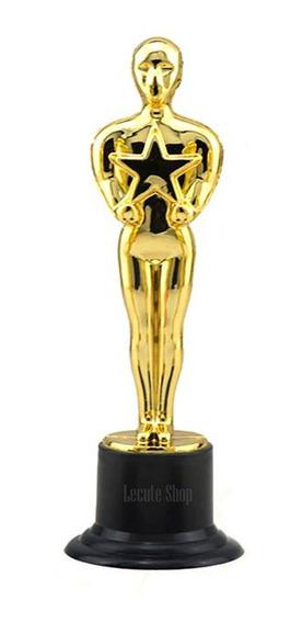 Estatuilla Premio Oscar Estrella 15 Cm Plastico Fiesta Oscar