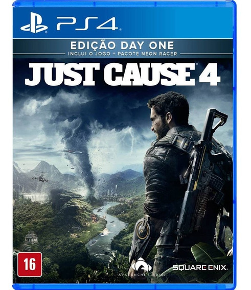Jogo Just Cause 4 ( Day One ) - Ps4 - Novo- Física Português