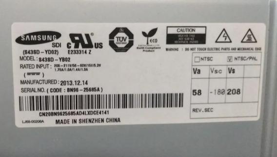 Display Plasma Samsung Pl43f4000