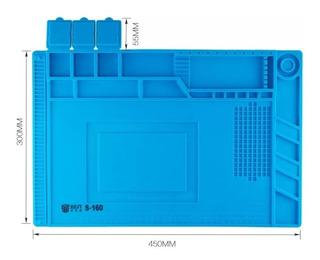 Tapete Antiesteticos Silicon Azul 45x30 Cm